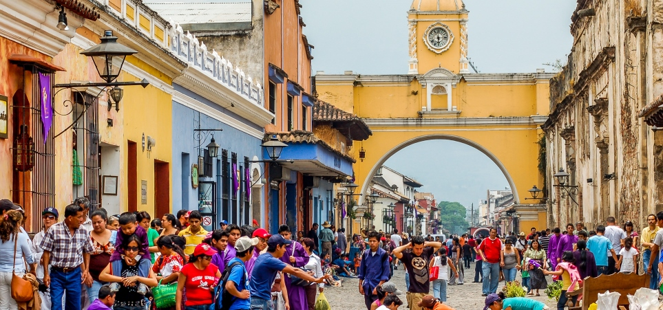 טיול מאורגן לגואטמלה, הונדורס וקוסטה ריקה