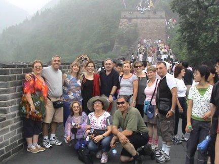 אבי פינצ'י בטיול המאורגן בסין