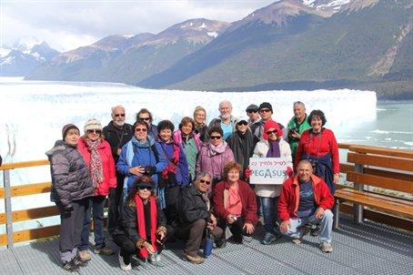 טיול מאורגן לדרום אמריקה מקיף מתאריך 16.01.13 בהדרכת איציק ידגר, קרחון פריטו מורנו, ארגנטינה