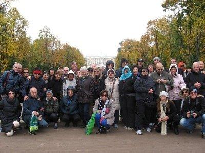 אורנה לוכסמבורג בטיול המאורגן של פגסוס לרוסיה
