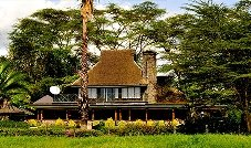 Lake Nakuru Lodge  מלון